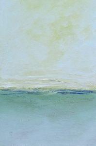"""Beach Bum 24""""x36"""" acrylic on canvas"""