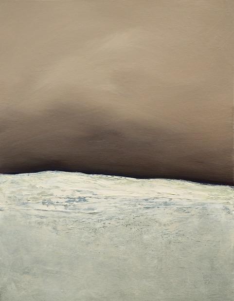 "Cold Storage 22""x28"" acrylic on canvas"