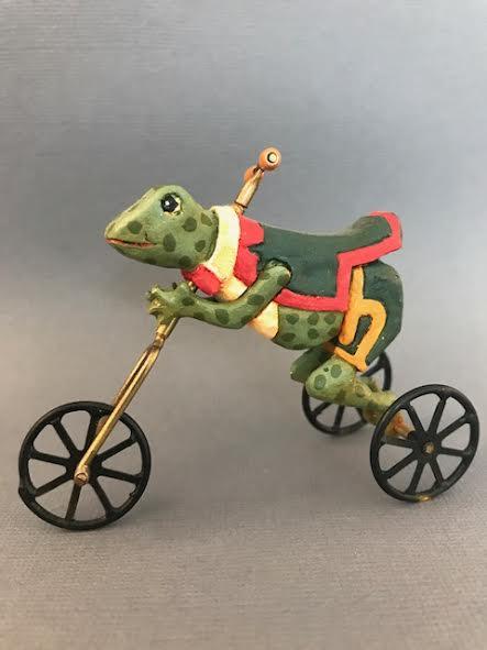 Judith-Lewin-Frog-trike