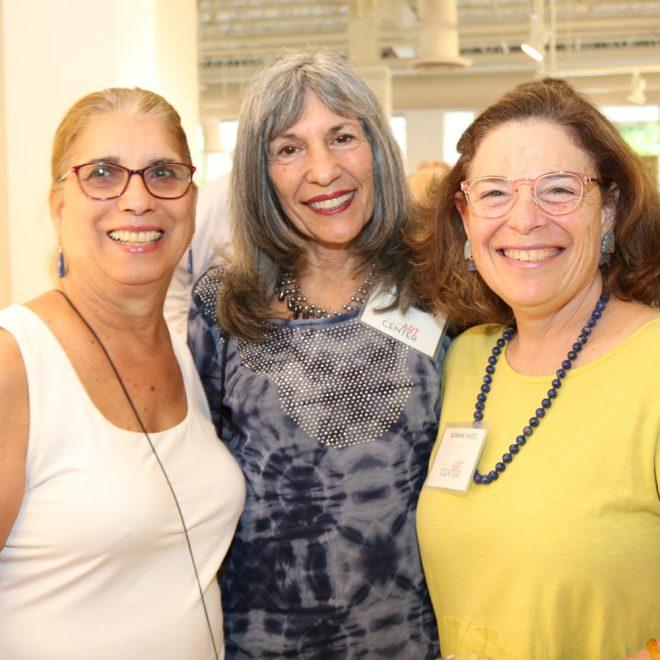 Joanna Pinsky & Bonnie Katz & friend