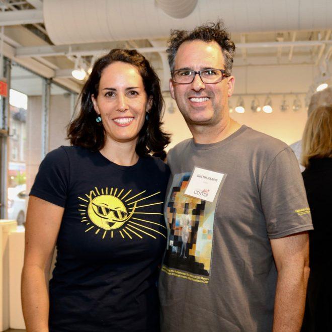 Lea Pinsky & Dustin Harris