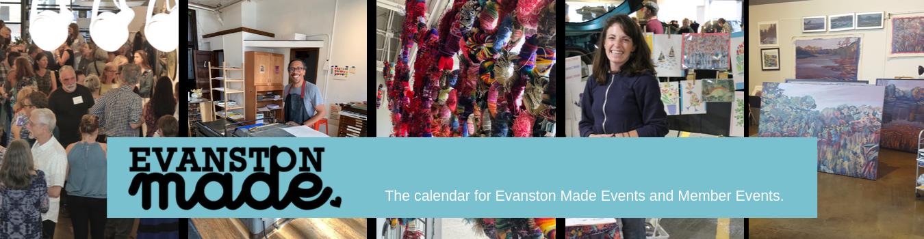 Evanston Made Art Event Calendar