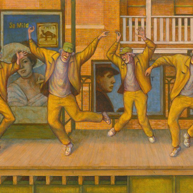 Old Men Dancing II (4 Leos) (2010) (OB)