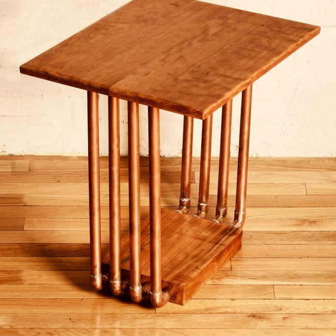 8-Pipe-Cherry-End-Table