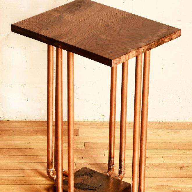 8-Pipe-Walnut-End-Table