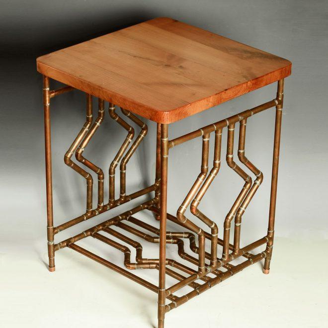 Diamond-Deco-Cherry-Side-Table