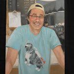 Backlot's John Kim portrait by Chris Froeter, Evanston