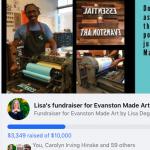 Evanston Made Facebook Fundraiser