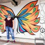 Valerie Kahan, I am Evanstrong Mural, La Principal Evanston