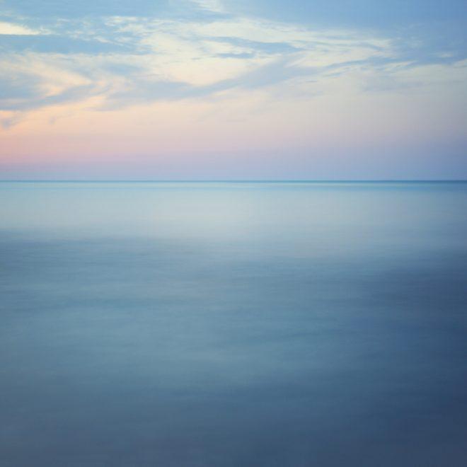 Lake Michigan at dusk