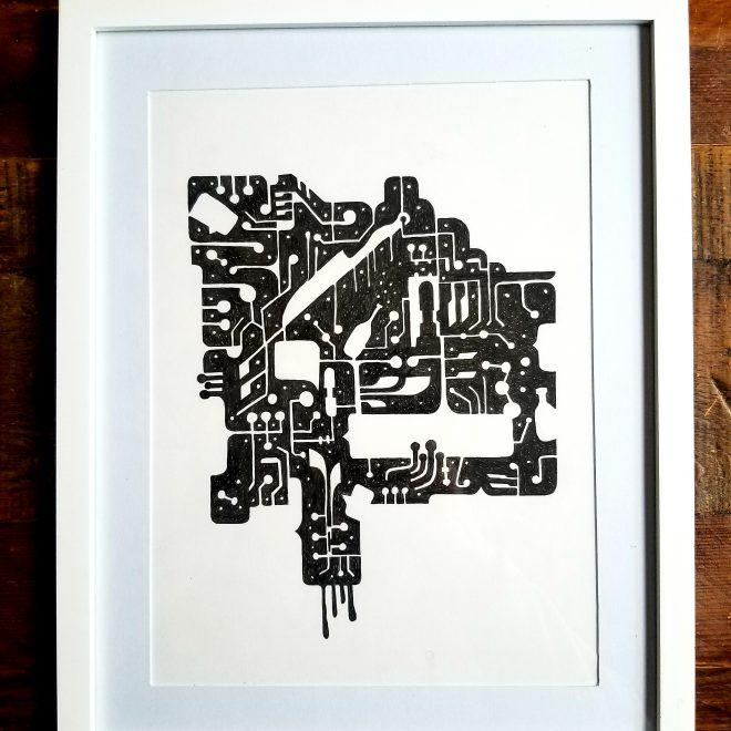 Junk Drawer - framed