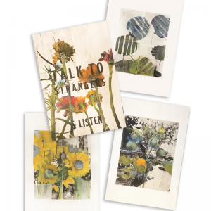 julie cowan art postcards