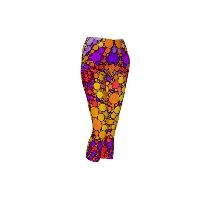 Blooming-Circles-Capri-Leggings