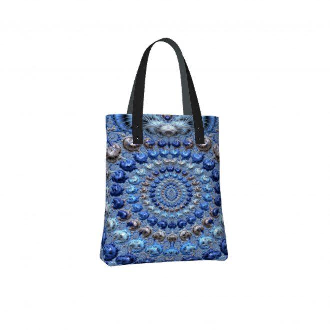 Platinum-and-Blue-Pearls-Tote-Bag