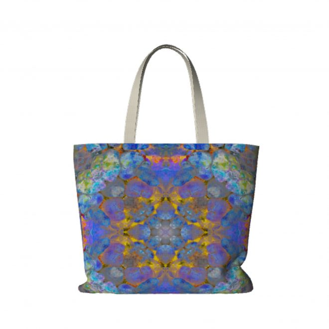 Stones-Gathered-on-Volcano-Large-Tote-Bag
