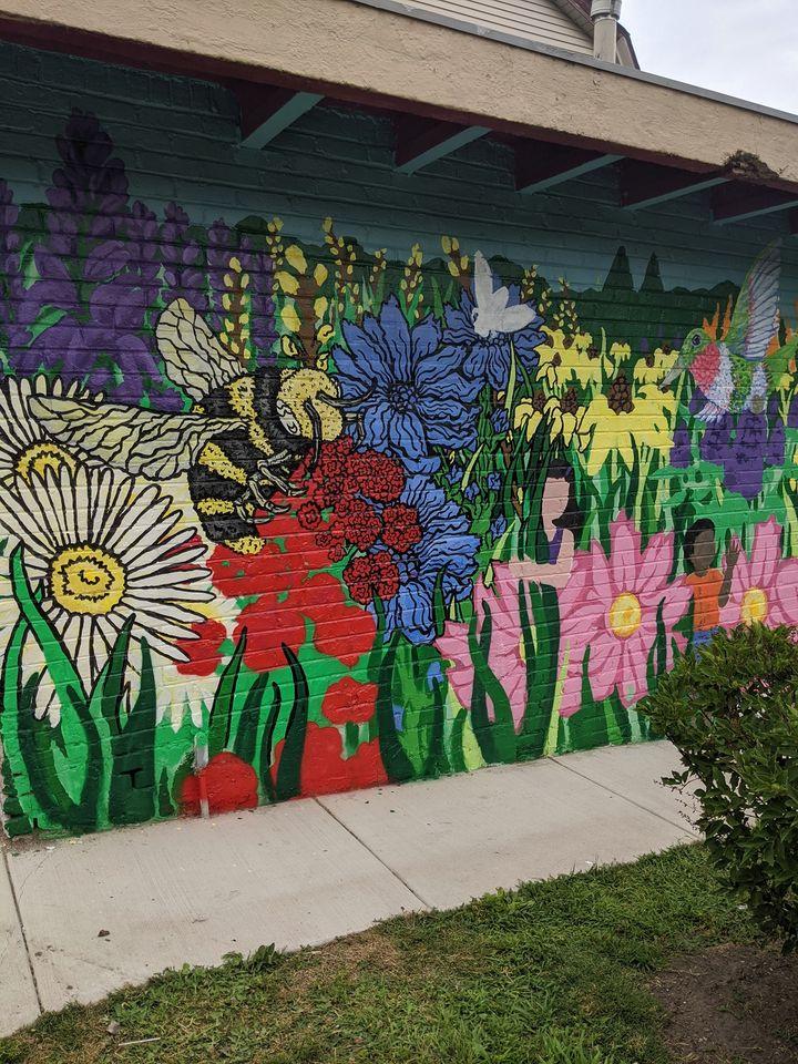 Art Encounter Mural at Ridgeville Park