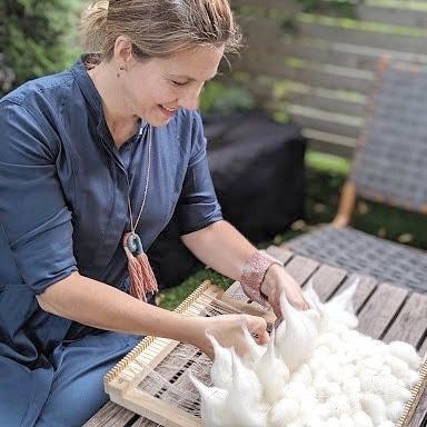 Amy Gabbert<br>Weavings, jewelry