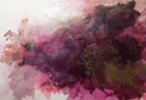 Oleksandra Dinets<br>Abstract art