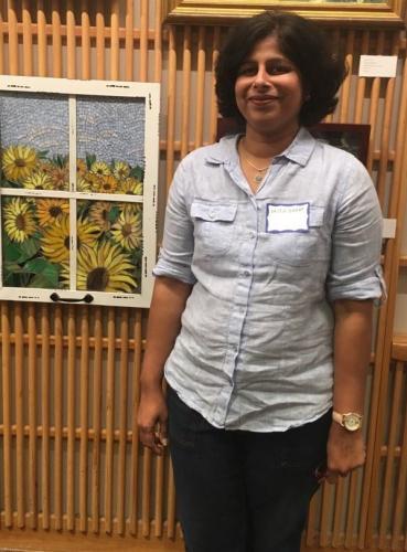 Vaiju Saraf<br>Mosaic creations
